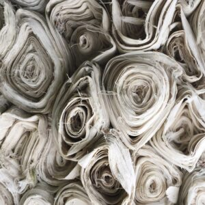 rolls-of-white-fabric