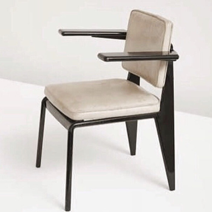 brown-wooden-chair-white-seat