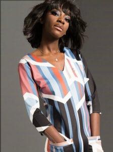 pattern-dress-model