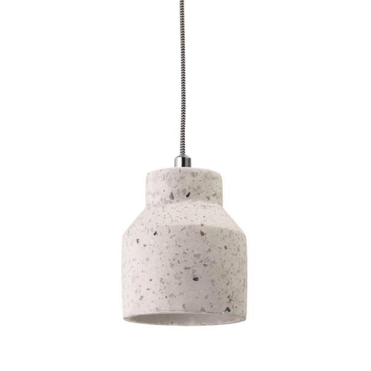 concrete-terazzo-lamp-shade